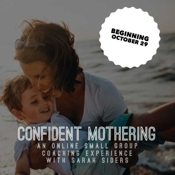 Confident Mothering graphic1